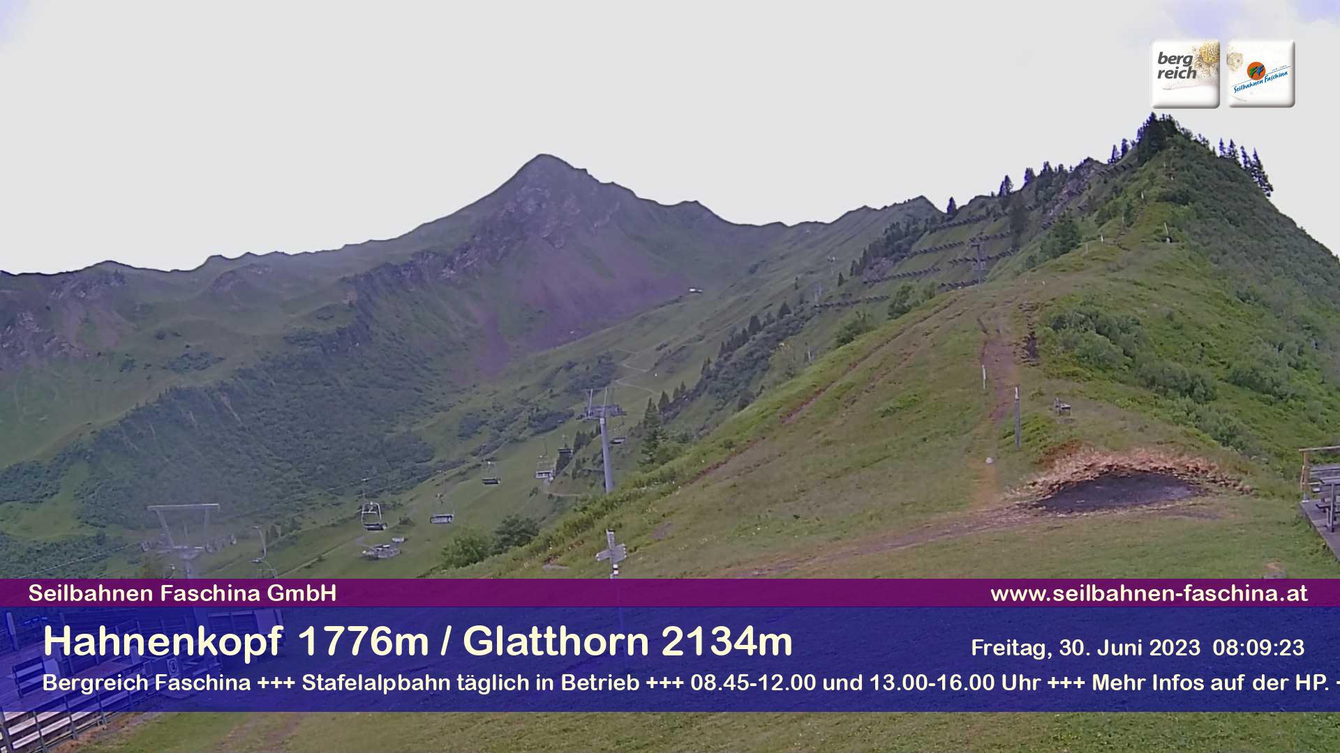 Faschina, am Hahnenkopf 1.776 m