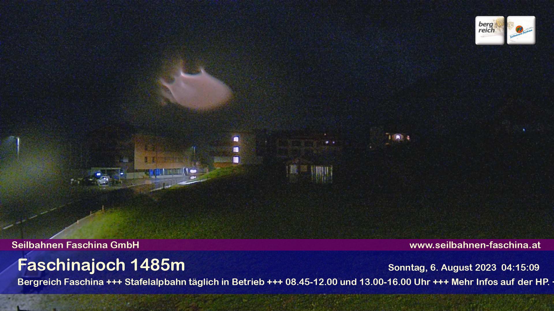 Faschinapass, Talstation Stafelalpbahn 1.489 m - Blick Richtung Passhöhe